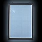 Рамка алюминиевая световая 60х90 двухсторонняя, фото 2