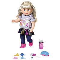 Baby Born Интерактивная кукла Бэби Борн Сестричка, 43 см