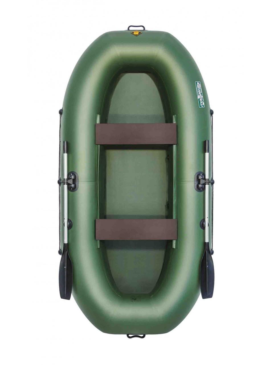 Лодка Таймень V 290 зеленый