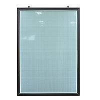 Рамка алюминиевая световая 80х120 двухсторонняя