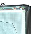 Рамка алюминиевая световая 80х120 двухсторонняя, фото 3