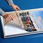 Рамка алюминиевая световая 80х120 двухсторонняя, фото 7