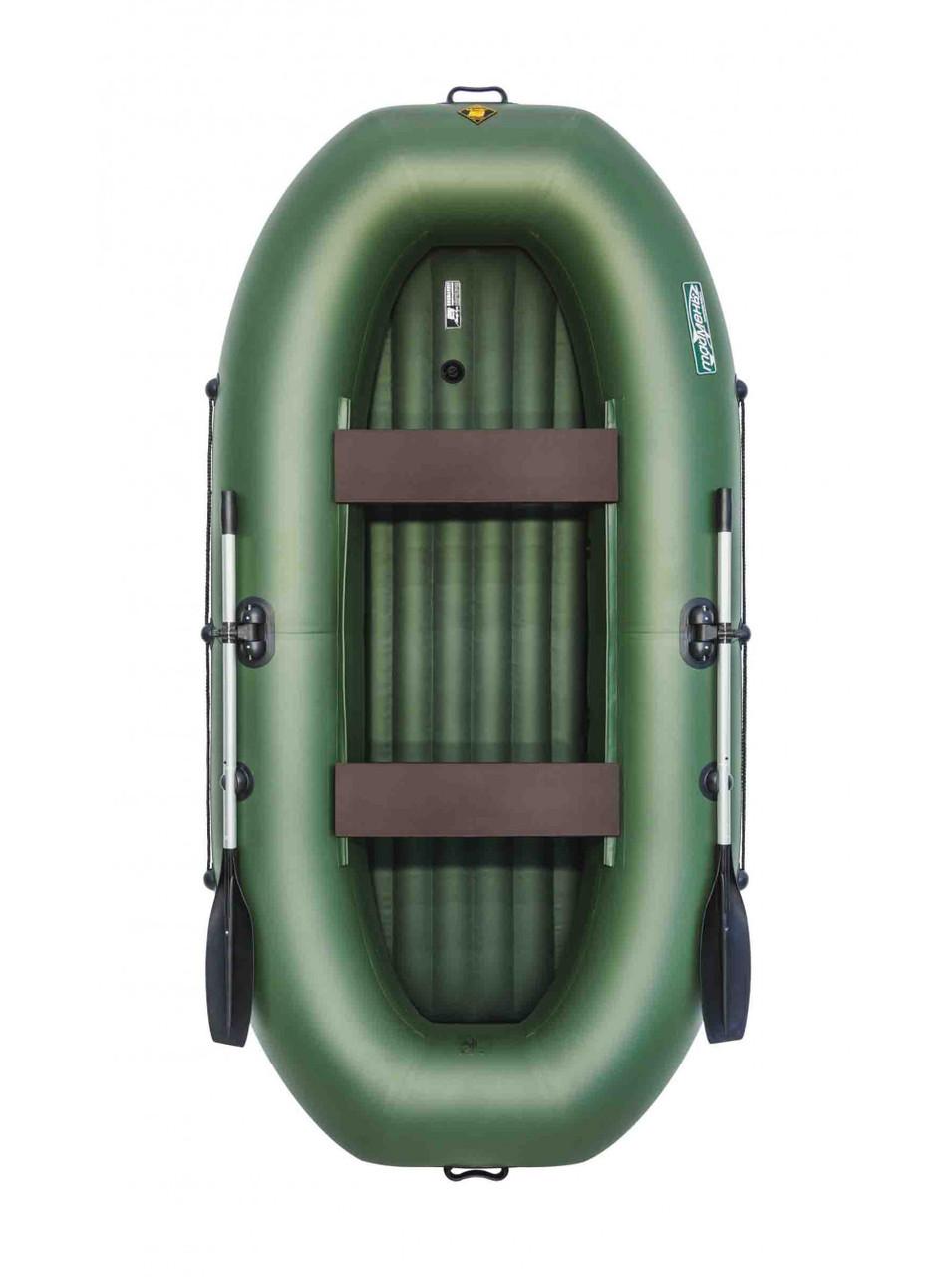 Лодка Таймень V 290 НД зелёный