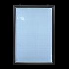 Рамка алюминиевая световая 80х120 односторонняя, фото 2
