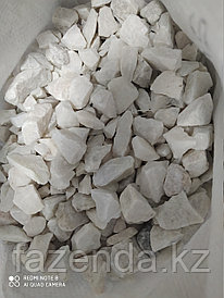 Камни галька белая 20 кг