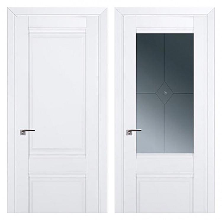 Дверь Омега Белая