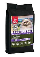 Сухой корм для стерилизованных кошек Blitz Holistic Sterilised Cats Chicken&Liver (Low Grain) курица печень, фото 1