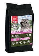 Сухой корм для кошек всех пород Blitz Holistic Cat Chicken&Lamb (Low Grain) курица ягненок, фото 1