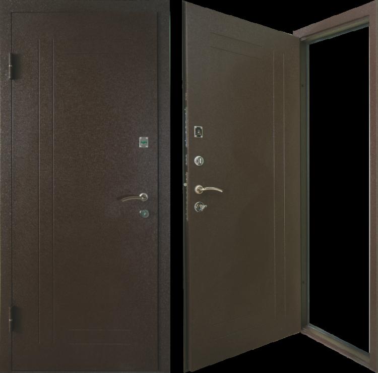 Металлические двери Эконом T-03