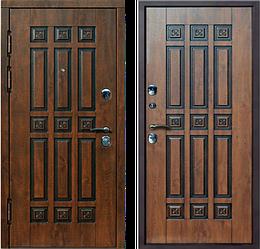 Металлические двери в квартиру Цветы