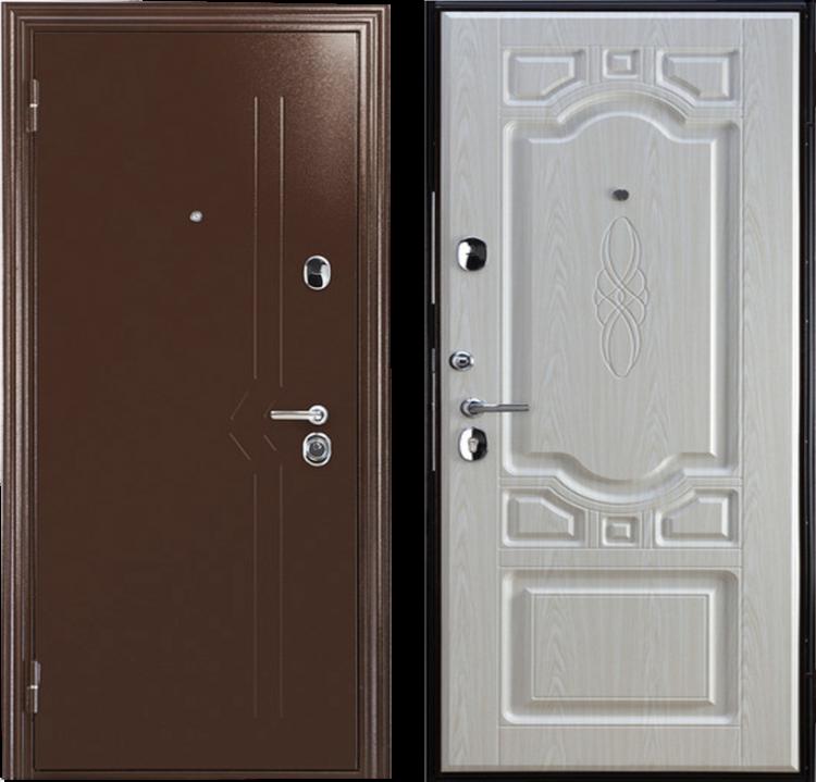 Дверь входная металлическая утепленная ДС 613