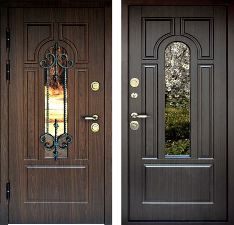 Двери входные металлические ПРЕМЬЕР 3D GRAF GLASS