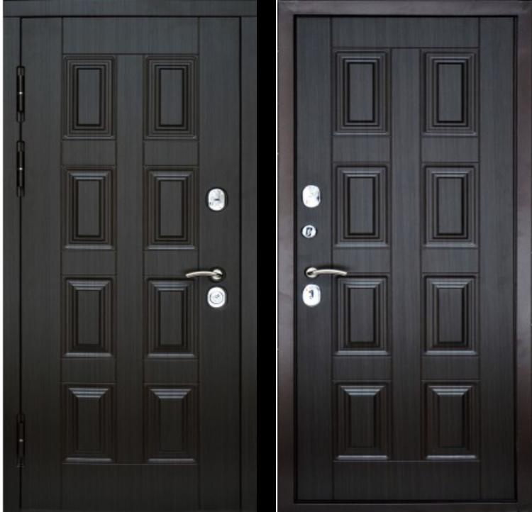 Дверь входная металлическая утепленная KREDO