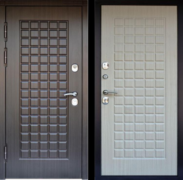 Уличные металлические двери CUBE