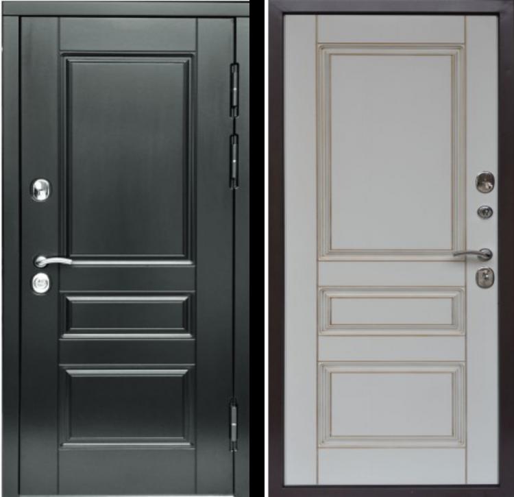 Металлические двери в квартиру SV