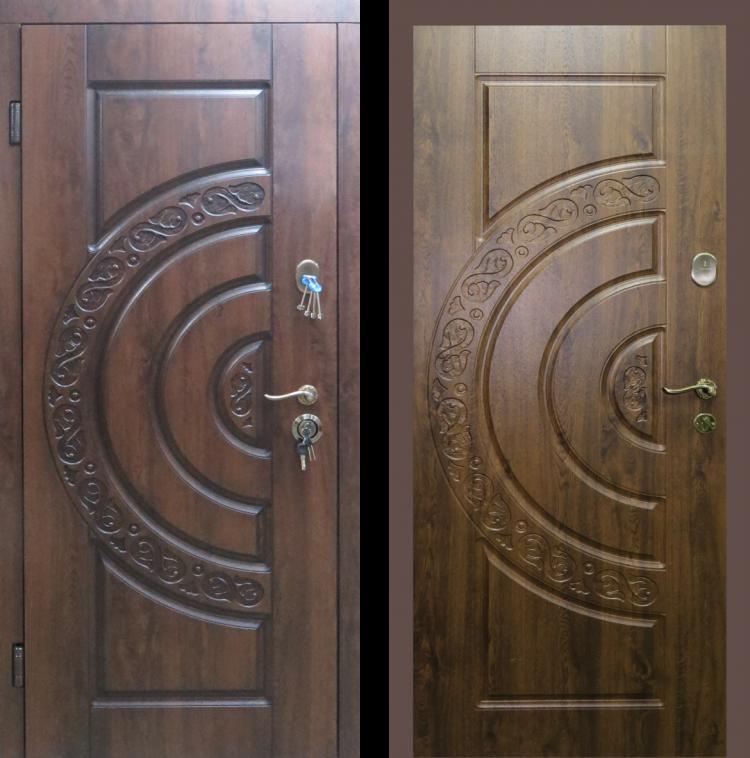 Дверь входная металлическая утепленная Optima Монако
