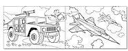 Раскраски для мальчиков набор «Крутые тачки», 8 шт., фото 2