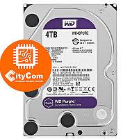 Жесткий диск для видеонаблюдения 4Tb Western Digital Purple WD40PURZ SATA 6Gb/s 64Mb