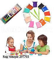 Набор для творчества легкий пластилин 12 цветов