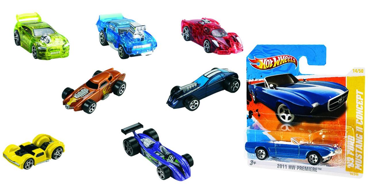 Mattel Hot Wheels Машинка из базовой коллекции ( в ассортименте) - фото 1