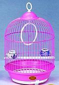 """Клетка для мелких птиц """"Эмаль"""" - 23х37см"""