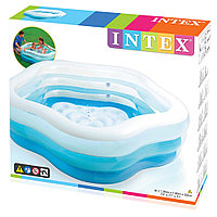Intex / Бассейн надувной Summer Colors 185х180x53см