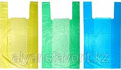 Пакет майка, размер: 30*50 см.цвет в ассортименте.РК