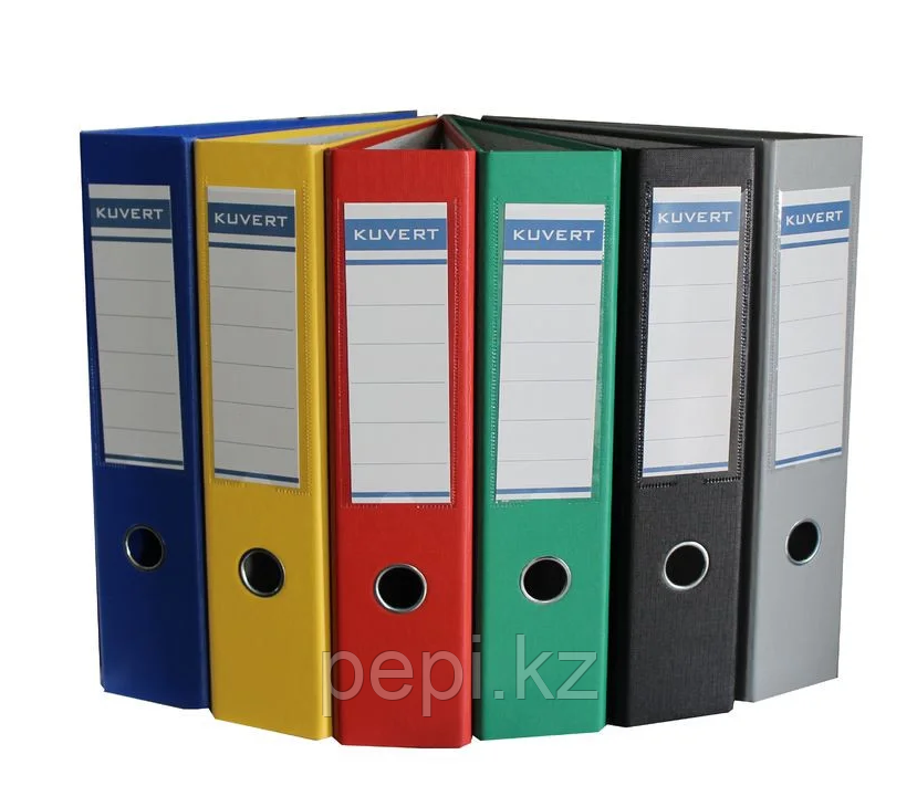 Папка регистратор Kuvert, А4, 50мм, ПВХ-ЕСО