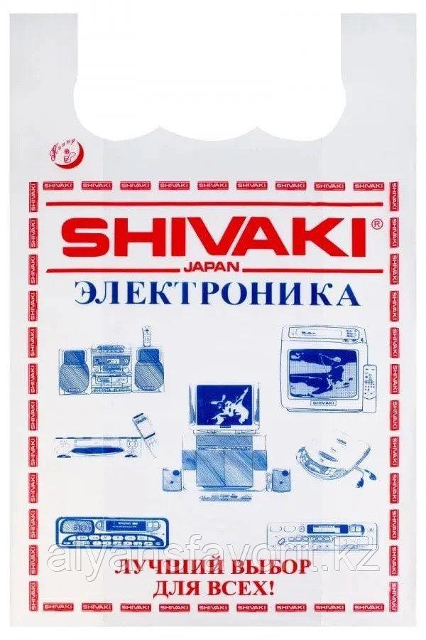 Пакет майка SHIVAKI, размер: 45*70 см. РК