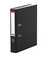 Папка регистратор Kuvert, А4, 50мм, ПВХ-ЕСО черный