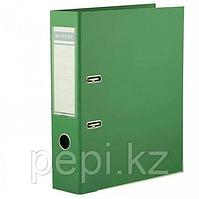 Папка регистратор Kuvert, А4, 75мм, ПВХ-ЕСО зелеый