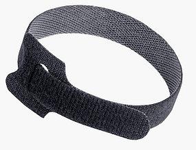 Хомут-липучка  многоразовая Hook & Loop 13Х250ММ black