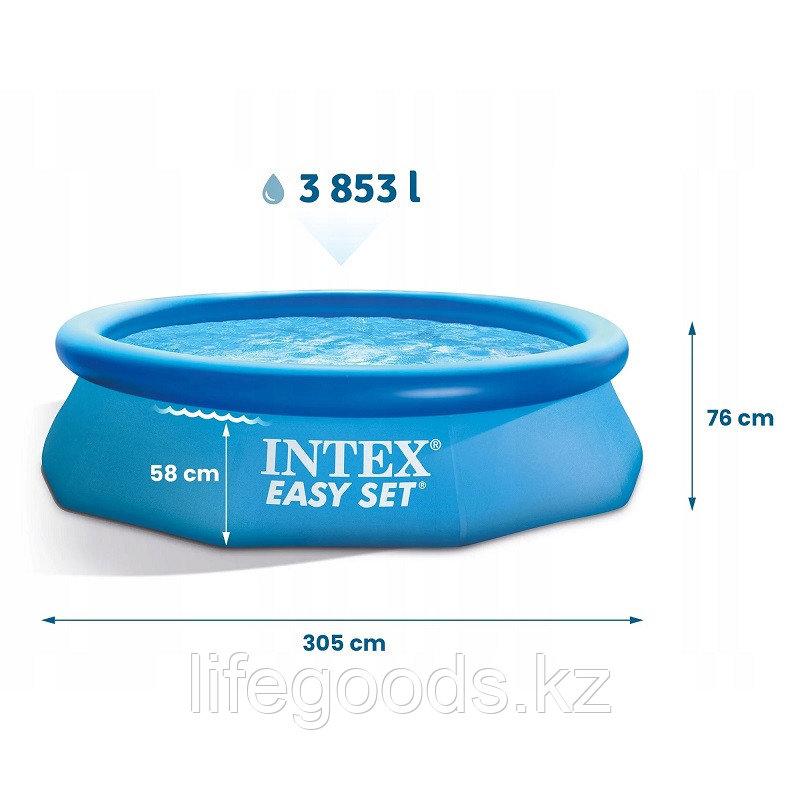 Круглый надувной бассейн 396х84 см, Intex 28143 - фото 6