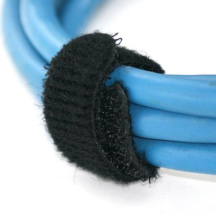 Хомут-липучка  многоразовая Hook & Loop 13Х250ММ black, фото 2