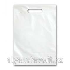 Пакет рекламный, размер: 25*36 см., цвет:белый - без логотипа. РК