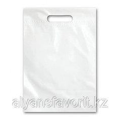 Пакет рекламный, размер: 38*50 см., цвет:белый- без логотипа.РК