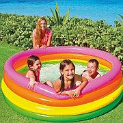 """Детский надувной бассейн """"Радуга"""" 168х46 см, Intex 56441"""