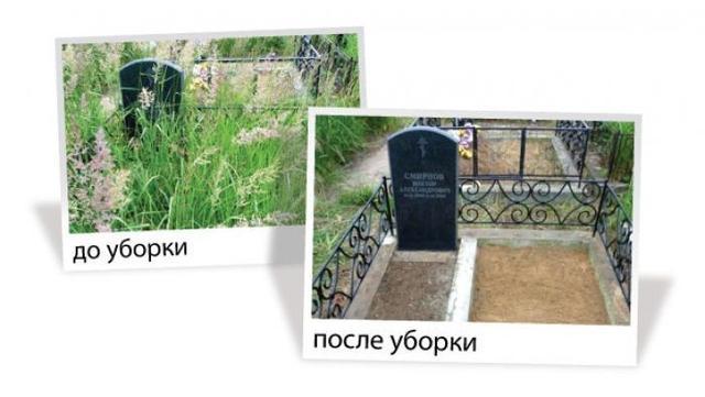 Уход за могилами