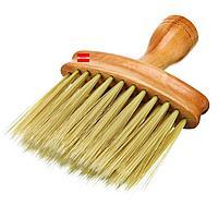 Щетка сметка парикмахера большая с деревянной ручкой, фото 1