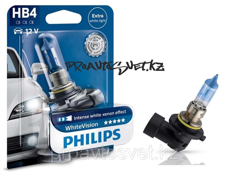 Лампа автомобильная PHILIPS HB4 9006 WHITE VISION 12V B1