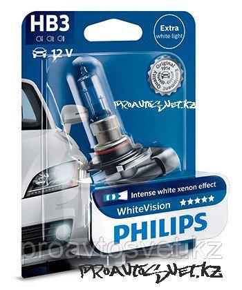 Лампа автомобильная PHILIPS HB3 9005 WHITE VISION 12V B1