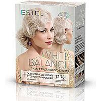 Набор для окрашивания волос Estel White Balance Секрет идеального блонда  Волнующий аметист