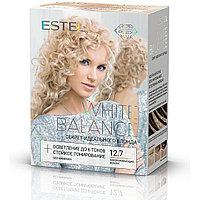 Набор для окрашивания волос Estel White Balance Секрет идеального блонда Тон 12.7 Завораживающие жемчужины
