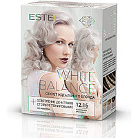 Набор для окрашивания волос Estel White Balance Секрет идеального блонда Тон 12.16 Роскошный бриллиант