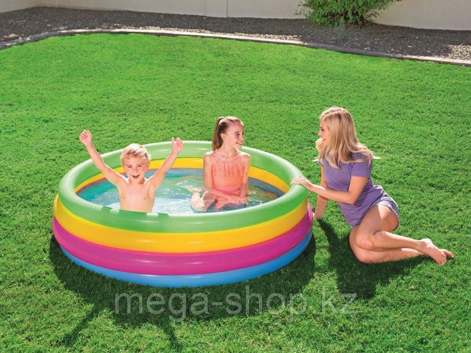 Надувной детский бассейн интекс 56441 168*46