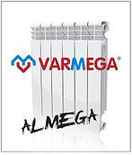 Алюминевые радиаторы Almega (Италия) 200/100 гарантия 10 лет