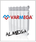 Алюминевые радиаторы Almega (Италия) 500/100 гарантия 10 лет