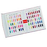 Книга-палитра 80цветов для гель-лаков, фото 1