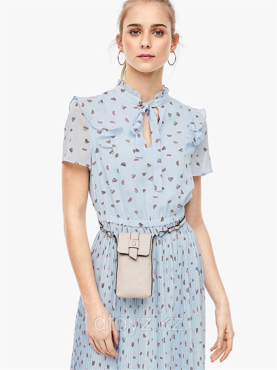 S.OLIVER Платье голубое размер 38