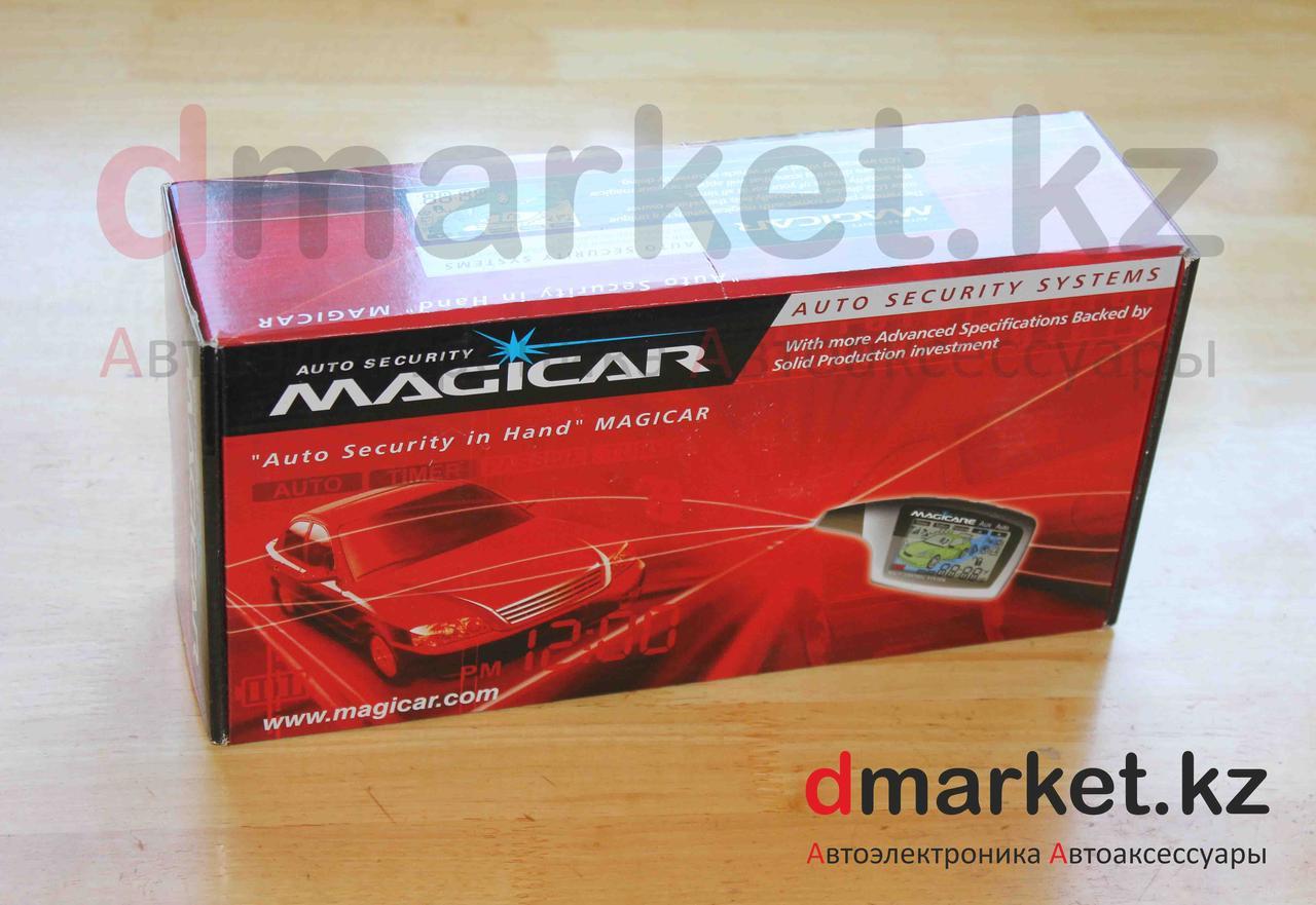 Автосигнализация Magicar M902F, автозавод, 2 пульта, турботаймер